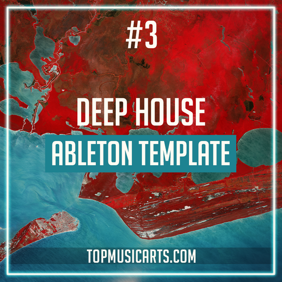#3 Deep House Ableton Template (Meduza Style)
