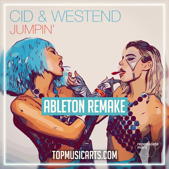 CID & Westend - Jumpin' Ableton Remake (Tech House Template)