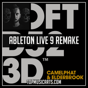 CamelPhat & Elderbrook - Cola Instrumental Ableton Live 9 Remake (House Template)