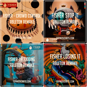 Ableton Template Producer Pack Bundle: Fisher (4 remakes)