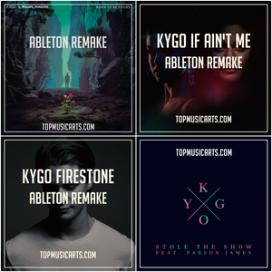 Ableton Template Producer Pack Bundle: Kygo (4 Remakes)
