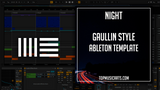 Gaullin Style Ableton Template - Night (House)