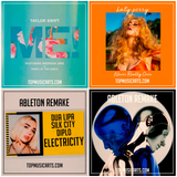 Ableton Template Pack Bundle #6 Pop (Katy Perry, Taylor Swift, Dua Lipa) 4 remakes + Bonus