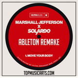 Marshall Jefferson & Solardo  - Move your body Ableton Remake (Tech House Template)