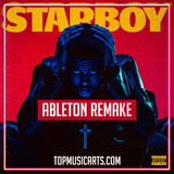 The Weeknd ft Daft Punk - Starboy Ableton Remake (Hip-Hop Template)