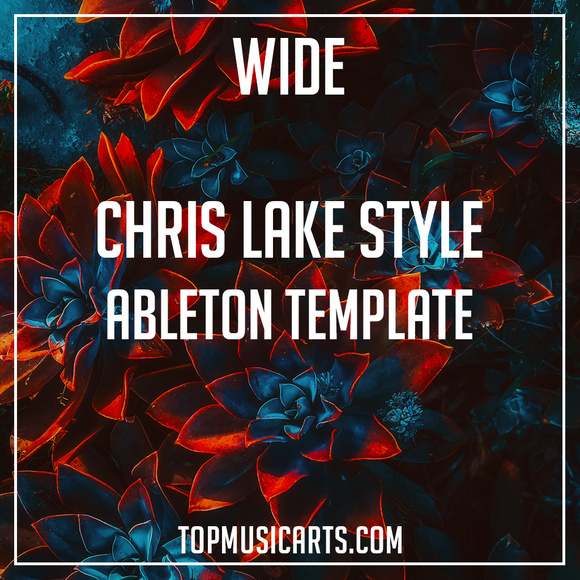 Chris Lake Style Ableton Template - Wide (House)