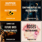 Ableton Template Pack Bundle #3 Future Bass (Marshmello, The Chainsmokers) 4+1 Bonus