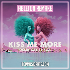 Doja Cat ft SZA - Kiss me more Ableton Template (Pop)