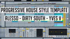 Progressive house template