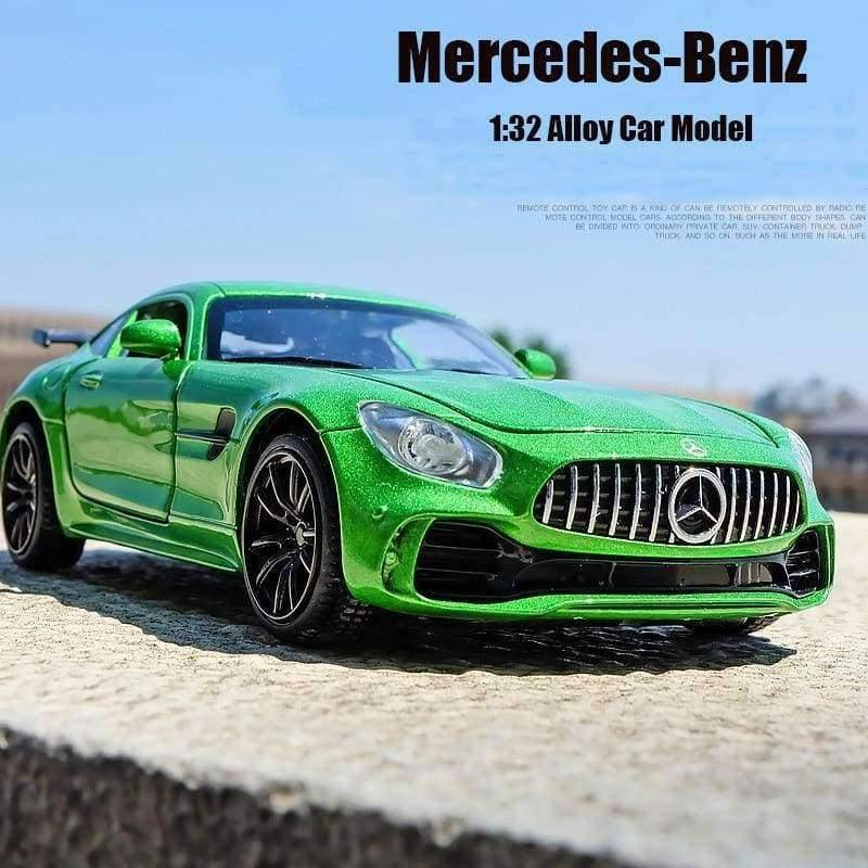 1 32 Toy Car Benz Gtr Amg Metal Toy Alloy Super Car Diecasts Toy Vehicles Car Model Miniature Scale Model Car Toy For Children