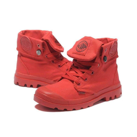 ec8cc178c ... Image of Planet Gates 1   6.5 PALLADIUM Pallabrouse All Red Sneakers  Men High-top ...