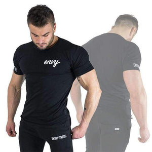 Planet Gates 1 / M Summer New Brand mens gyms T shirt CrossfitsFitness Bodybuilding Shirts Printed Fashion Male Short cotton clothing Tee Tops size