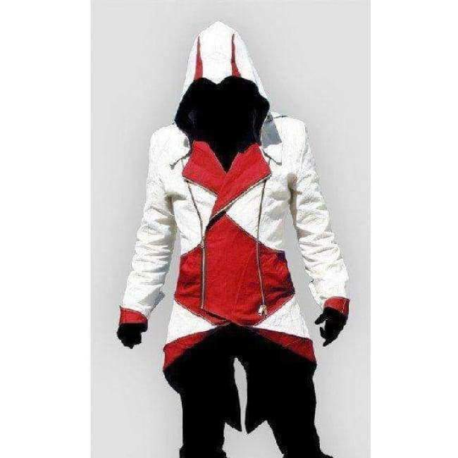 Planet Gates 1 / XXS Assassins Creed Costume Cosplay Conner Kenway Hoodie Jacket Tracksuit Novelty Sweatshirt Hoody Plus Size Cloak Jacket Men