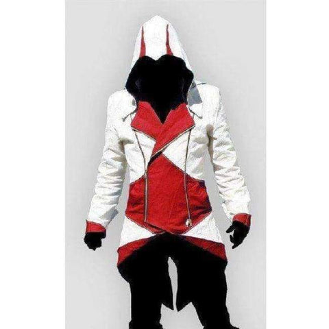 Image of Planet Gates 1 / XXS Assassins Creed Costume Cosplay Conner Kenway Hoodie Jacket Tracksuit Novelty Sweatshirt Hoody Plus Size Cloak Jacket Men