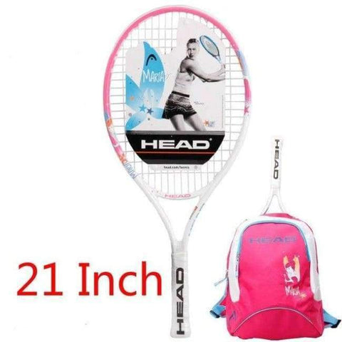 Planet Gates 10 Junior Carbon Fiber Tennis Racquet for Kids Youth Childrens Training Rackets With bag cover 21/23/25 Inch Raquete De Tenis