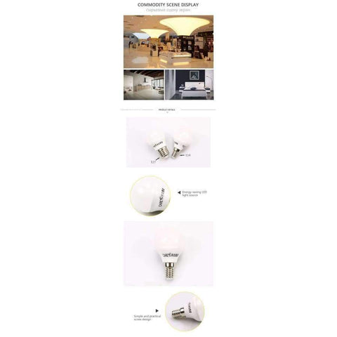 Gambar dari Planet Gates 11W E27 3000K 4pcs Care Globe LED Light Bulb 3W 5W 7W 9W 10W 11W e14 e27 LED Lighting Light Bulbs 6500K 4000K 3000
