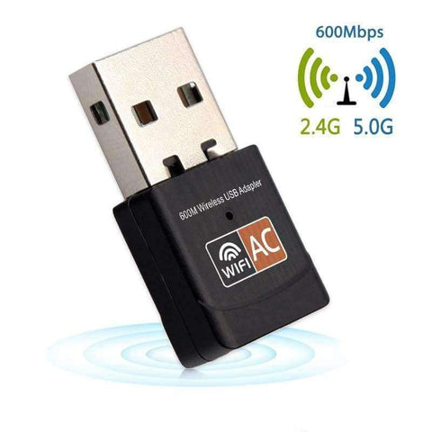 Image of Planet Gates 150Mbps USB Wifi Adapter 600Mbps Wireless Network Card Ethernet Antena Wifi Receiver USB LAN AC Dual Band 2.4GHz 5GHz for PC
