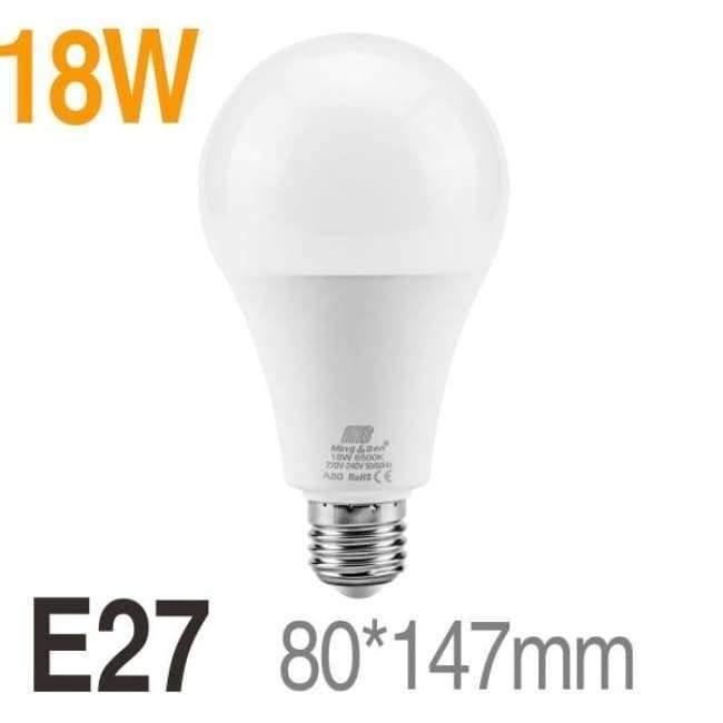 Bright Led Bulb Lamps E27 E14 220v Light Bulb Smart Ic Real Power3w 5w 7w 9w 12w 15w 18w High Brightness Lampada Led Bombilla Spotlight Light Bulbs