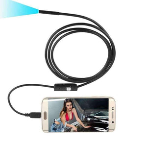 Planet Gates 1M Car Diagnostic Tool USB Camera Waterproof Bendable Car Inspection Wire Snake Tube Inspection For OTG Compatible Android Phones