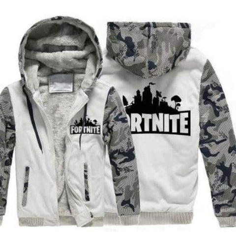 Image of Planet Gates 2 with print / 15 Boys Clothes Winter Super Warm  Hoodies Sweatshirts Thick Fleece Teenage Boys Camouflage Jackets Velvet Kids Coats 15-20