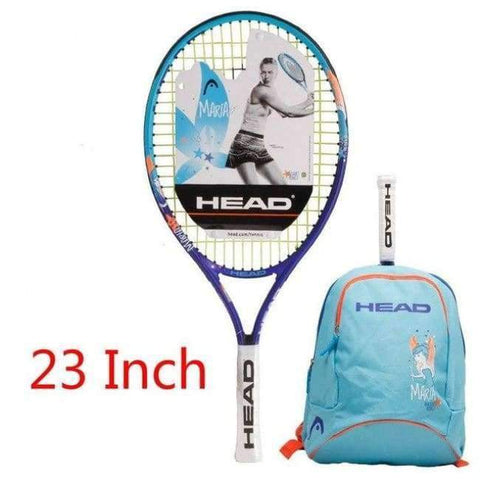 Planet Gates 3 Junior Carbon Fiber Tennis Racquet for Kids Youth Childrens Training Rackets With bag cover 21/23/25 Inch Raquete De Tenis