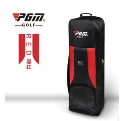 Planet Gates 3 PGM Genuine Golf air bag thickening type double deck aircraft bag with pulley golf bag