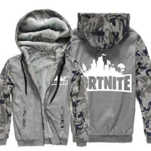Image of Planet Gates 3 with print / 15 Boys Clothes Winter Super Warm  Hoodies Sweatshirts Thick Fleece Teenage Boys Camouflage Jackets Velvet Kids Coats 15-20