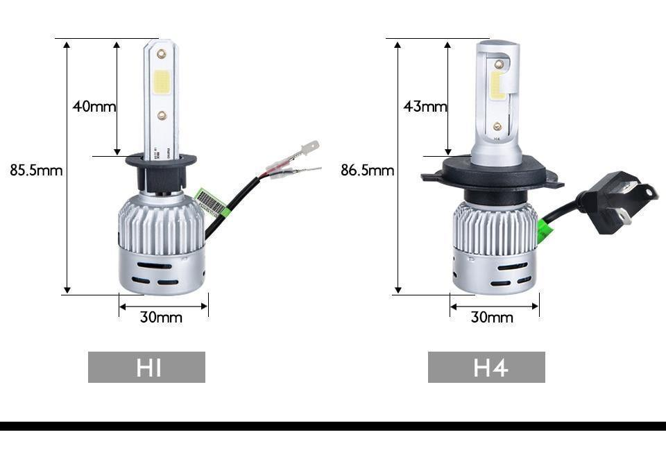 HOLIDAY TRAVEL BULB KIT CAR H1 H4 H7 for TOYOTA COROLLA