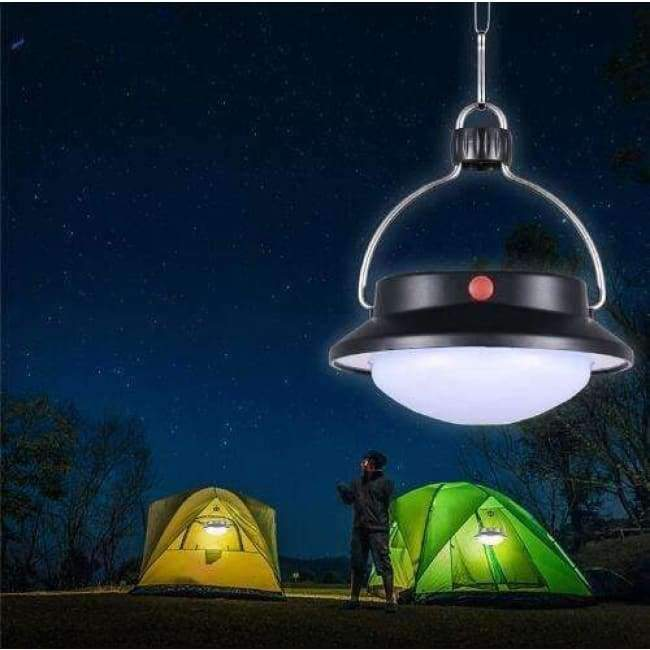360LM 60 LED Solar Bulb Lamp Solar Powered Camping Light Portable Outdoor Solar Energy Charged Tent Fashing Lamp Light
