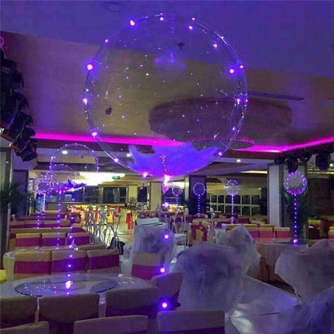 3m 30 Led Beads Balloon Light Outdoor Christmas Lights Indoor Fairy Lights New Year S Decor Wedding Decorations Holiday Lights