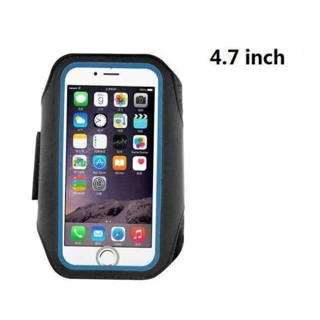 size 40 4a580 afe95 Armband Running Case for iPhone X SE 6 6S 7 8 Plus Cases Cover Gym Arm Band  Sport Cover Holder Bag Phone Cases for huawei