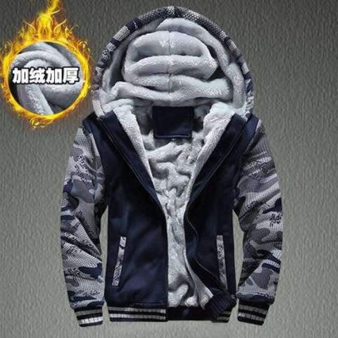 Image of Planet Gates 4 no print / 15 Boys Clothes Winter Super Warm  Hoodies Sweatshirts Thick Fleece Teenage Boys Camouflage Jackets Velvet Kids Coats 15-20