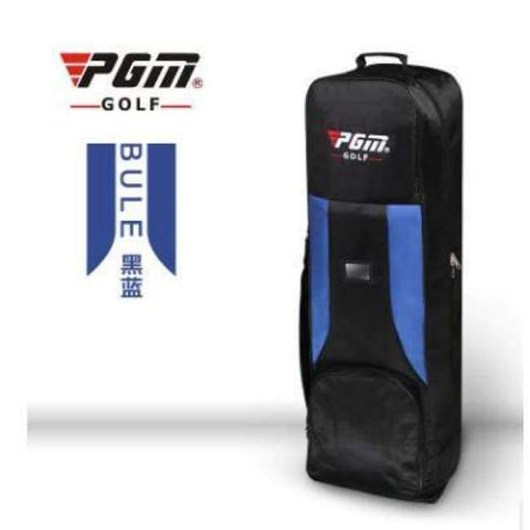 Planet Gates 4 PGM Genuine Golf air bag thickening type double deck aircraft bag with pulley golf bag