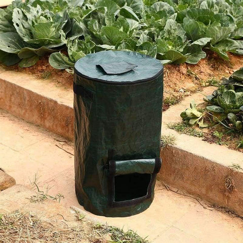 Planet Gates 45x80cm Plastic Potato Planter Bag Garden Patio Fruits Vegetables Planter Bags Flower Plants Grow Bag Tools Greenhouse Supplies