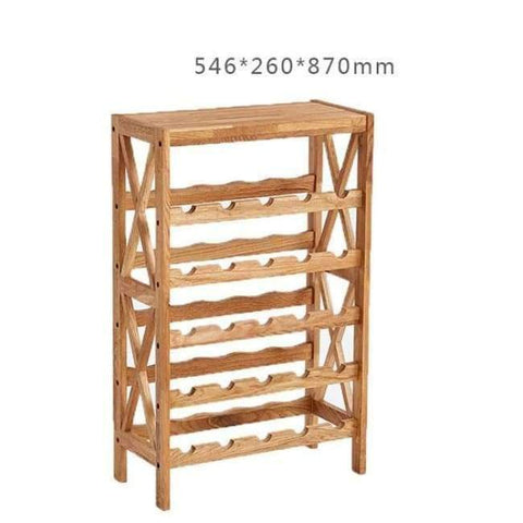 Planet Gates 5 Tier Modern Wooden Wine Rack Cabinet Display Shelf Bar Globe for Home Bar Furniture Oak Wood 25-40 Bottles Wine Rack Holders Storage