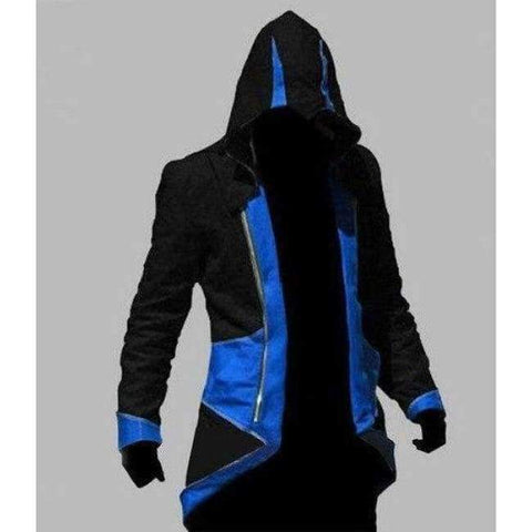 Image of Planet Gates 5 / XXS Assassins Creed Costume Cosplay Conner Kenway Hoodie Jacket Tracksuit Novelty Sweatshirt Hoody Plus Size Cloak Jacket Men