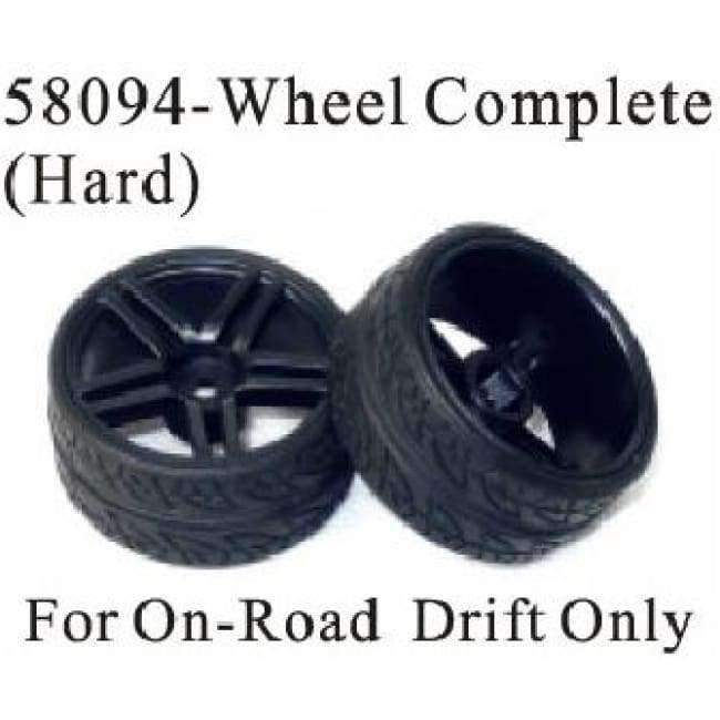 Planet Gates 58094 HSP RACING CAR TOYS PARTS ACCESSORIES WHEEL RIM 58082, TYRE 58083 58093, WHEEL COMPLETE 58084 58094 OF 1/18 EP ON ROAD DRIFT CAR