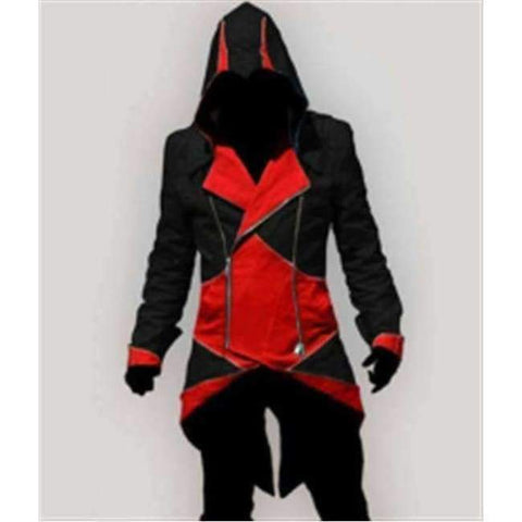 Image of Planet Gates 6 / XXS Assassins Creed Costume Cosplay Conner Kenway Hoodie Jacket Tracksuit Novelty Sweatshirt Hoody Plus Size Cloak Jacket Men