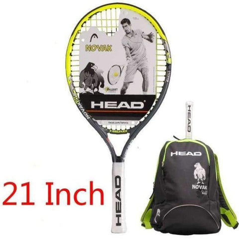 Planet Gates 7 Junior Carbon Fiber Tennis Racquet for Kids Youth Childrens Training Rackets With bag cover 21/23/25 Inch Raquete De Tenis