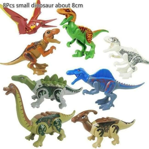 Planet Gates 77037 Jurassic World 2 Dinosaur Building Blocks Legoings Jurassic Dinosaur Figures Bricks Tyrannosaurus Rex Indominus I-Rex Model Toys