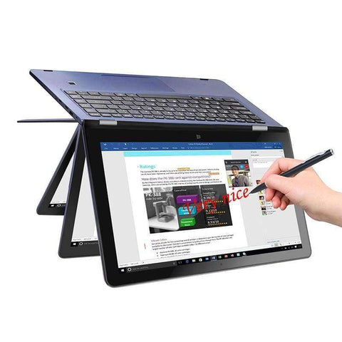 "Planet Gates 8Gram 120Grom Blue / US plug VOYO V3pro Apollo Lake N3450 Quad Core 1.1-2.2GHz Win10 tablet PC IPS Screen With 8GB DDR3L 120GB SSD 13.3""YOGA Computer"