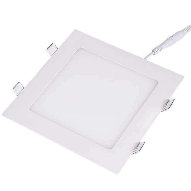 Planet Gates 9W / Square warm white TSLEEN Round/Square Recessed Ceiling Lamp LED Panel Down Lights For Home Commercial Cool Warm White LED AC 85-265V