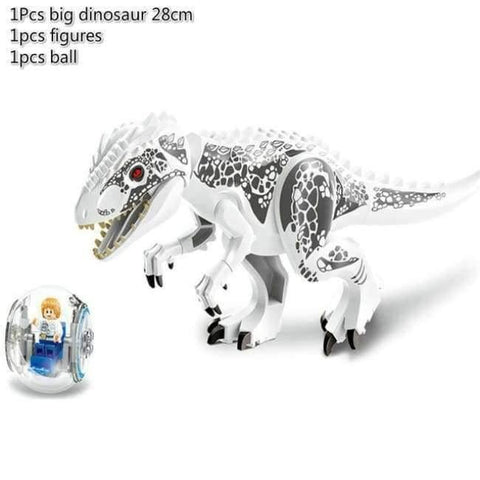 Planet Gates A Jurassic World 2 Dinosaur Building Blocks Legoings Jurassic Dinosaur Figures Bricks Tyrannosaurus Rex Indominus I-Rex Model Toys