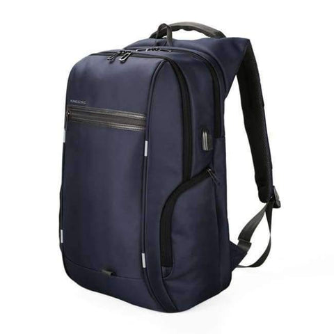 Planet Gates A KS3140W Blue / 13 Inches Kingsons 13.3,15.6,17.3 inch Laptop Computer Backpack for Men Women Anti-theft Waterproof Bag Backpack External USB Charge 15 17