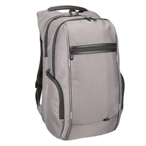 Planet Gates A KS3140W Gray / 13 Inches Kingsons 13.3,15.6,17.3 inch Laptop Computer Backpack for Men Women Anti-theft Waterproof Bag Backpack External USB Charge 15 17