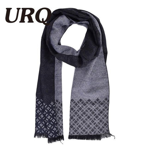 Planet Gates A3A18909 black Man Checked Winter Scarves Fashion style Long Cashmere scarf soft warm Wraps Casual style