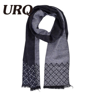 Man Checked Winter Scarves Fashion style Long Cashmere scarf soft warm Wraps Casual style