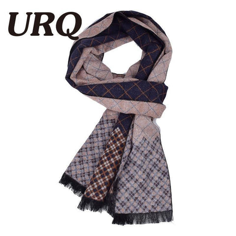 Planet Gates A3A18909 bordeaux Man Checked Winter Scarves Fashion style Long Cashmere scarf soft warm Wraps Casual style