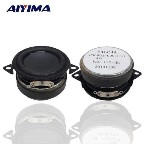 Image of Planet Gates AIYIMA 2Pcs 1.5Inch Audio Portable Bass Speakers 4Ohm 5-10W DIY For Bluetooth Speaker Home Theater Accessories