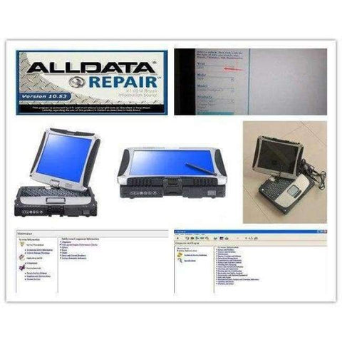 Planet Gates all data repair software pro v10.53 and mitchell on demand with computer diagnostic for cars and trucks hdd 1tb alldata auto
